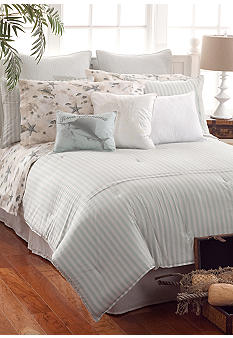 Tommy Bahama Surfside Stripe 4pc Comforter Set