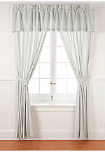 Surfside Stripe Valance 15-in. x 86-in. with a 3-in. header