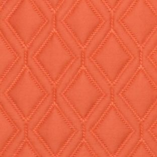 Duvets: Orange Vera Wang VW ORANGE BLSSMS 15X 20 DBLE FLANGE DEC