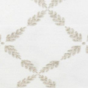 Laura Ashley: Cream Laura Ashley LA BRACKEN LEAF KING CSETS