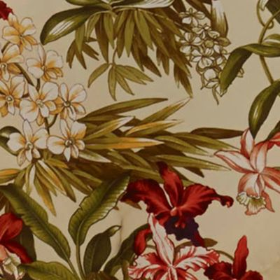 Floral Bedding: Multi Tommy Bahama DAINTREE TROP DEC DIA RED