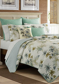 Tommy Bahama SERENITY PALMS TWIN QUILT