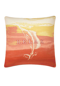 Tommy Bahama La Scala Breezer Ombre Decorative Pillow