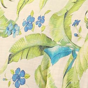 Comforter Sets: Citron Green Tommy Bahama Blue Palm King Comforter Set