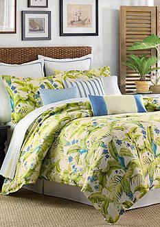 Tommy BahamaBlue Palm King Comforter Set
