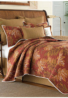 Tommy Bahama Orange Cay Quilt - Online Only