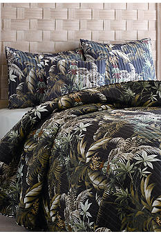 Tommy Bahama Rainforest Botanical Quilt Collection