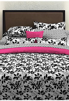 Perry Ellis Romance Floral Duvet Set - Online Only