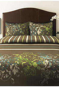 Perry Ellis Sweet Bay Duvet Set-Online Only