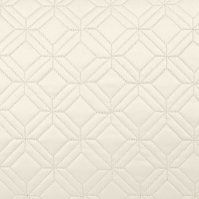 Quilts: Ivory Waterford LISMORE 12X18 WHITE