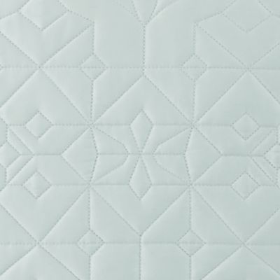 Quilts: Sage Waterford LISMORE EURO WHITE