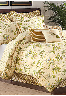 Williamsburg Catesby 4 Piece Palms Bedding Collection
