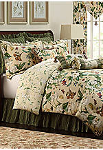 Garden Images Queen Comforter Set 92-in. x 96-in. with Shams 20-in. x 26-in.