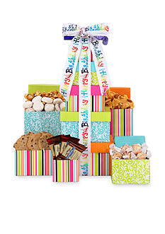 The Gifting Group Happy Birthday Treats Tower