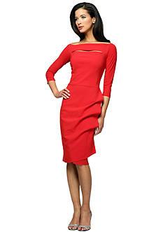 Perfect Pairings - Three-Quarter Sleeve Sheath Dress, Thigh Shaper, Bodysuit & Strapless Slip