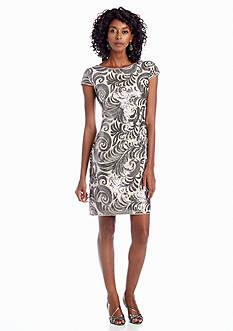 Perfect Pairings - Sequin Sheath Cocktail Dress, Camisole, Bodysuit & Full Slip