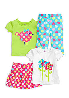 Mix & Match Polka Dots Collection Toddler Girls