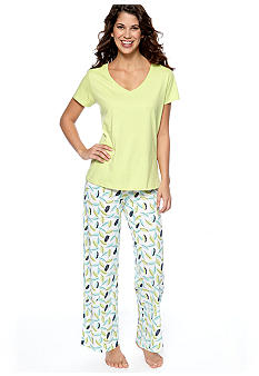 Jockey® Jockey® Classic Sleep Tee & Feather Fanfare Pant