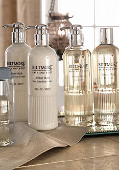 Biltmore® Bath & Body Amber Musk Collection