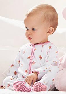 Ralph Lauren Childresnwear Bear Printed Coverall, Reversible Printed Receiving Blanket, Pink Stuffed Bear & More