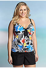 Kim Rogers® Plus Size Spanish Flower Collection