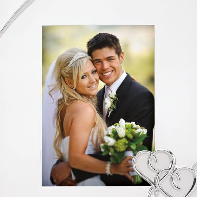 Wedding Picture Frames: Silver Plate Lenox TRUE LOVE 5X7 FRAME