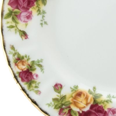 Gold China: Floral Royal Albert OCR 3PC TEASET