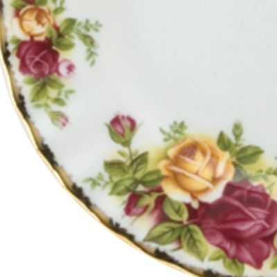 Royal Albert: Floral Royal Albert Old Country Rose Butterfly Salt & Pepper Set