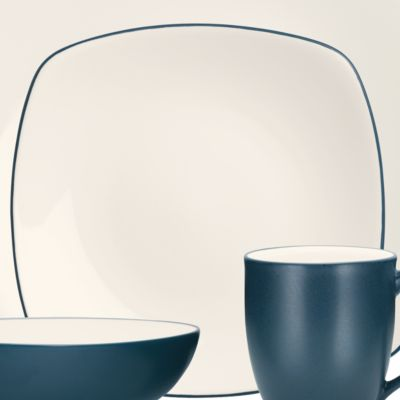 Noritake Dinnerware: Blue Noritake Colorwave Blue Tea Kettle
