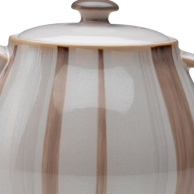 Denby For The Home Sale: Mocha Accent Denby TRUFFLE WIDE RIMMED TEAPLATE