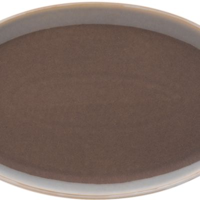 Denby For The Home Sale: Mocha Denby TRUFFLE WIDE RIMMED TEAPLATE