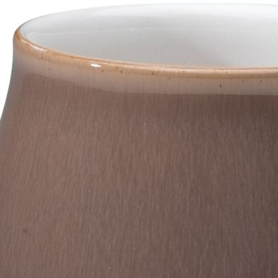Denby For The Home Sale: Brown Denby TRUFFLE WIDE RIMMED TEAPLATE