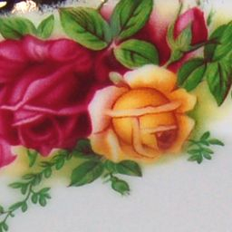 Gold China: Rose/Wb Royal Albert OCR SALAD