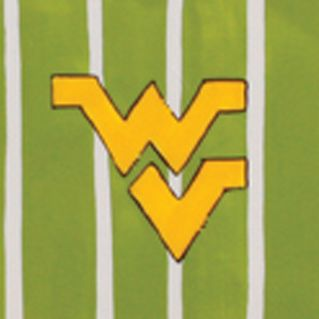 Magnolia Lane: West Virginia University Magnolia Lane Collegiate Stadium Tray