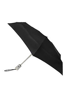 Totes Ladies Auto Open Auto Close Compact Umbrella