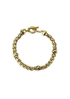 Lauren Ralph Lauren Braided Chain Bracelet