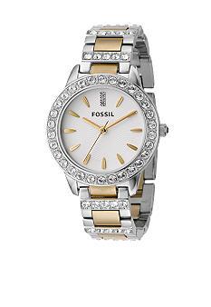 Fossil Ladies Glitz Two Tone Bracelet