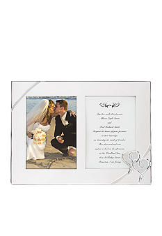 Lenox True Love Double Invitation 5x7 Frame