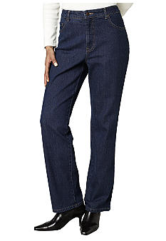 Kim Rogers® Petite Basic Easy Fit Denim