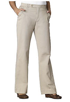 Lee&reg Platinum Classic Comfort Stretch Twill Pant Light Khaki finish
