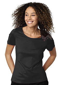 Kim Rogers Short Sleeve Nylon Spandex Tee