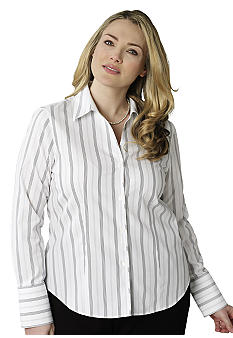 Jones New York Collection Plus Size Woven Top