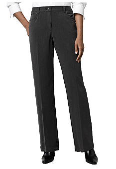 Rafaella Form + Function Petite Textured 5 Pocket Trouser