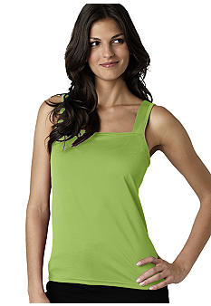 New Directions Bra Friendly Layering Tank