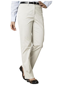 Jones New York Signature Basic Refined Twill Pant