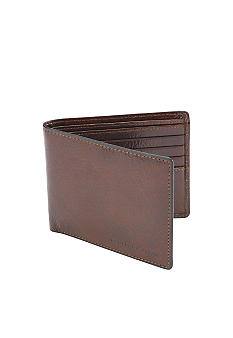 Geoffrey Beene Barrington  Leather Passcase Wallet