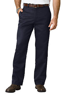 IZOD Classic Fit American Chino Flat Front Wrinkle-Free Pants