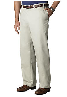 Izod Big & Tall  American Chino  Flat Front Twill  Pants