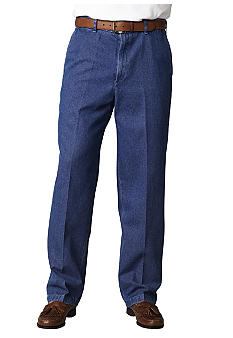 Haggar Work-To-WeekendFlat Front Denim Pants