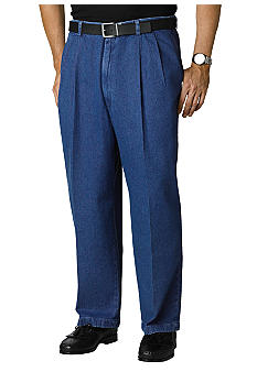 Haggar Big & Tall Work-To-WeekendDenim Pants
